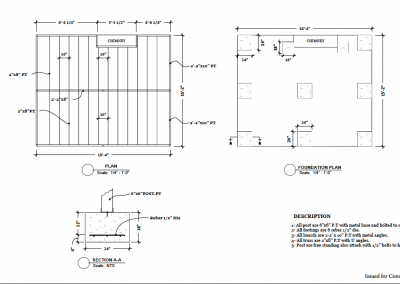 autocad design footings plan